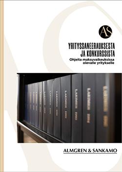Almgren & Sankamo: Yrityssaneeraus ja konkurssi